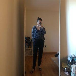 Derek Lam 10 Crosby 100% silk blouse